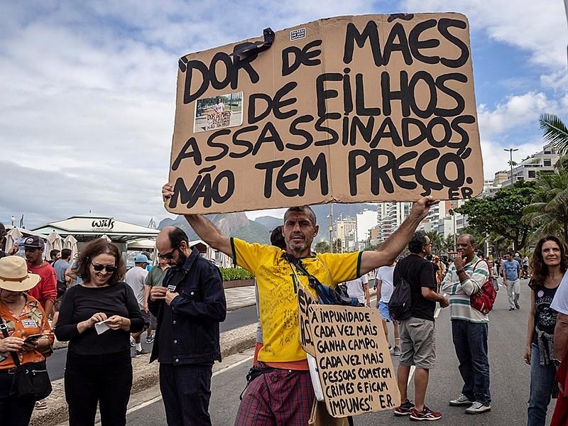 """Movimento """"Parem de nos Matar"""" pede um basta para política de segurança pública do Rio de Janeiro"""