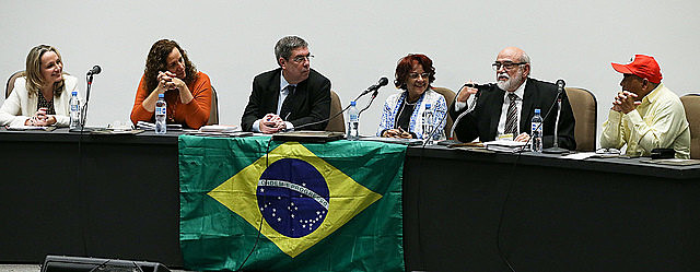 Debate no I Encontro Nacional da Frente Brasil de Juristas pela Democracia (FBJD), nesta terça (5)