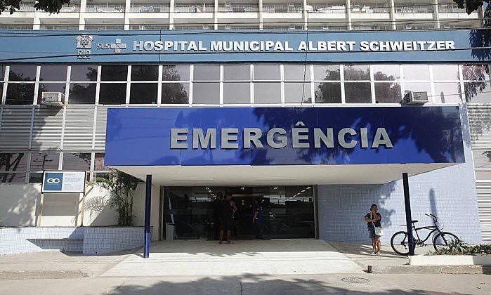 Hospital Municipal Albert Schweitzer na cidade do Rio de Janeiro