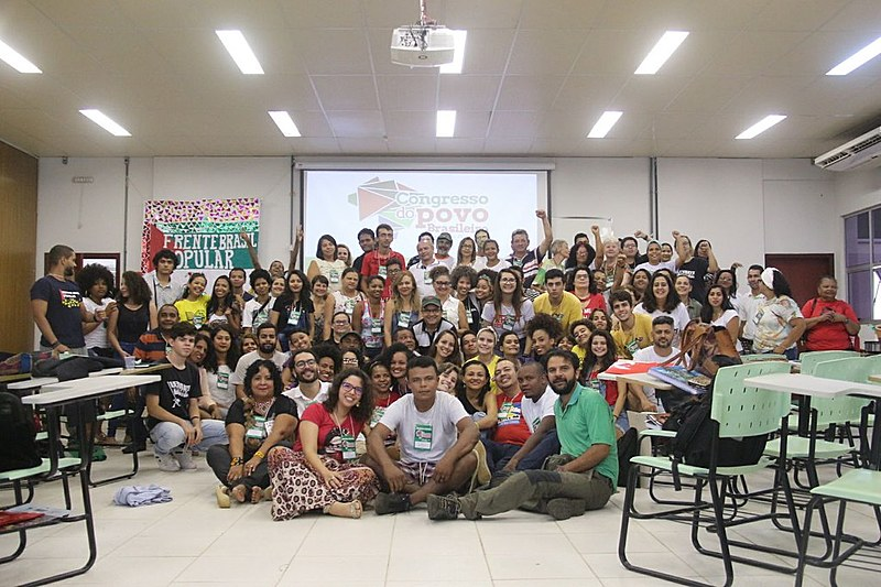 Participantes do Seminário Estadual para construção do Congresso do Povo Brasileiro em Palmas
