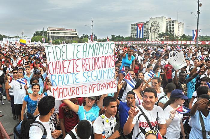 O aniversário da Revolução é comemorado sempre no dia 1º de janeiro, numa referência à data da destituição do ditador Fulgencio Batista