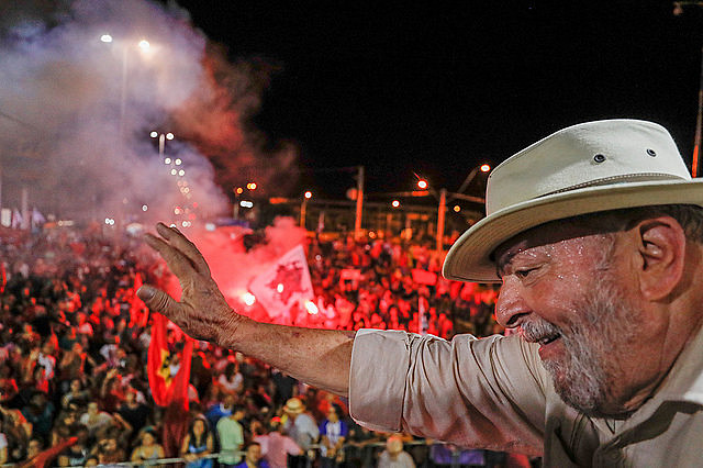 Lula's fellow party members and supporters will hold campaign launch event while Brazil's ex-president is in prison