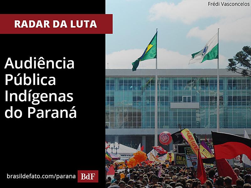 Radar da luta é uma coluna semanal da edição impressa do Brasil de Fato Paraná