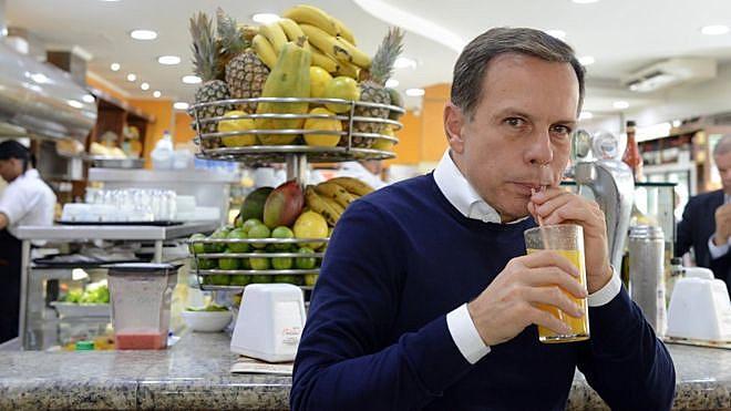 Doria promete distribuir 'comida de astronauta' para população carente em SP