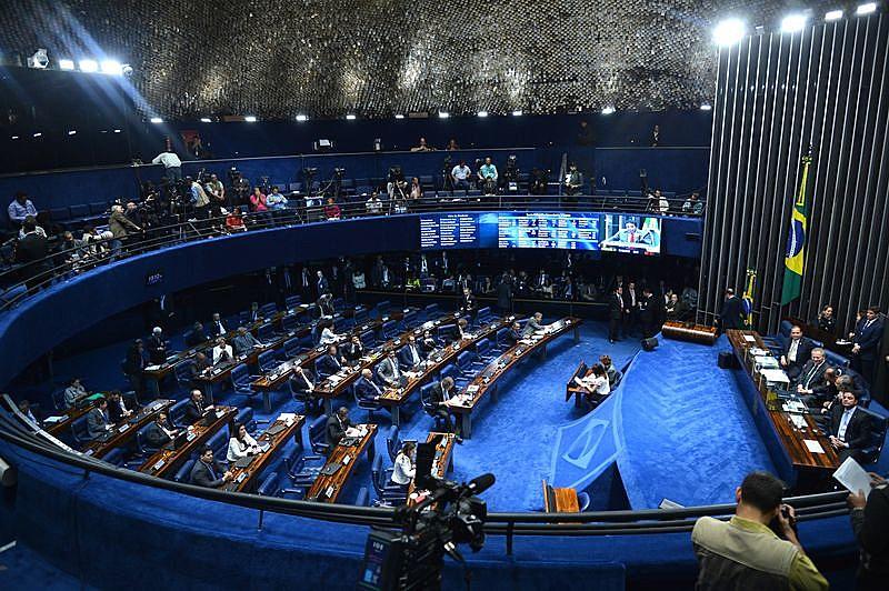 """""""Isto é um colégio eleitoral de exceção"""", disse a senadora Vanessa Graziottin (PCdoB-AM)"""