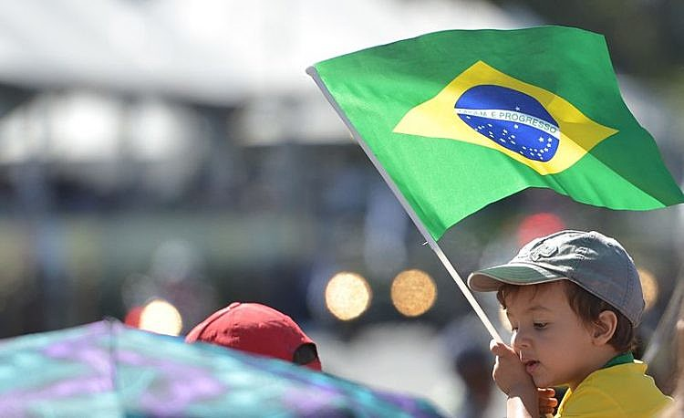 Desfile de 7 de setembro, Dia da Independência Nacional, na Esplanada dos Ministérios, em Brasília (DF)