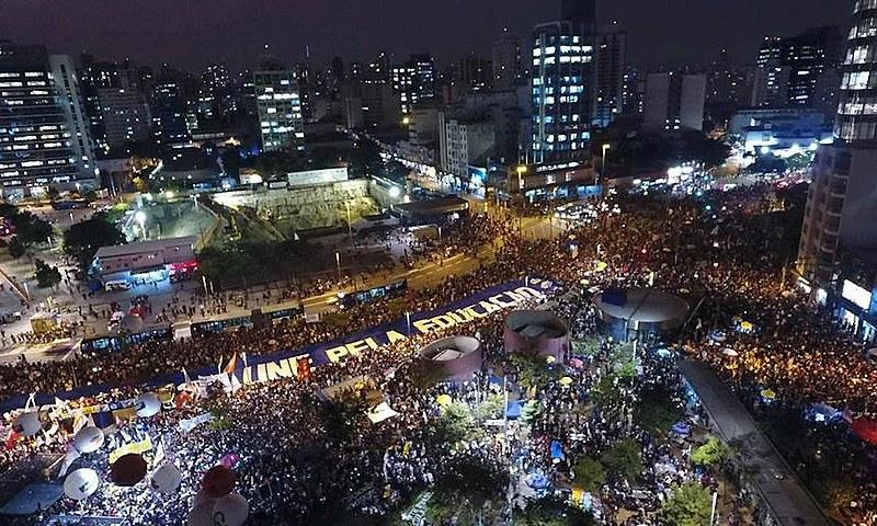 Manifestações de maio levaram mais de um milhão às ruas contra Bolsonaro