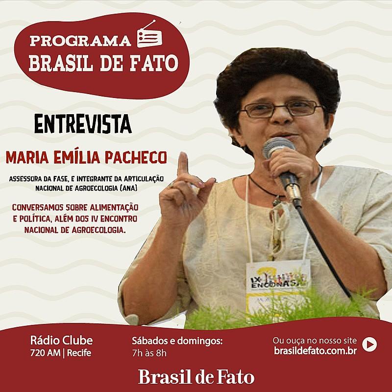 O programa vai ao ar as 7h da manhã na Rádio Clube AM e na Rádio Brasil de Fato.
