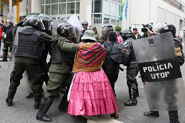 Indigenous women have been most targeted by the racially-driven violence during this civic-military coup d'état