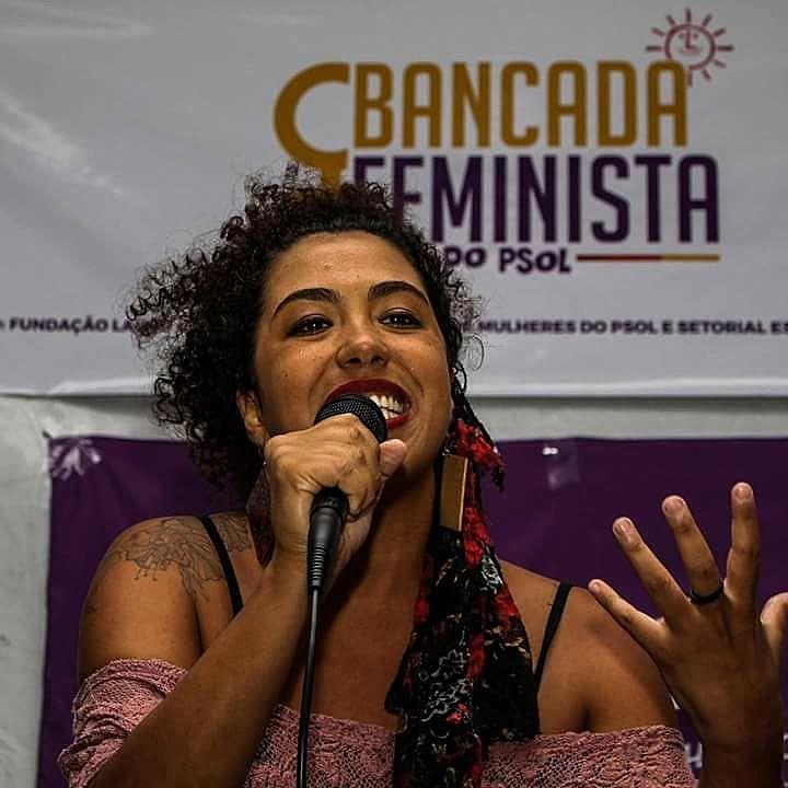 Mulher, negra e feminista, Talíria Petrone, vereadora amiga de Marielle Franco diz não retroceder em suas pautas por medo
