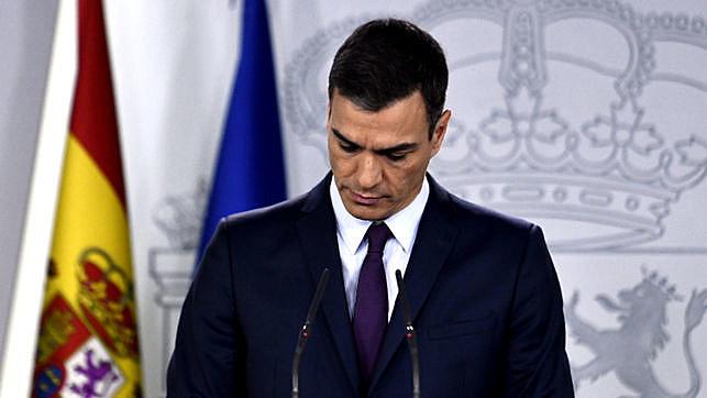 Sánchez chegou ao poder há oito meses, após a saída de Mariano Rajoy, do Partido Popular (PP)