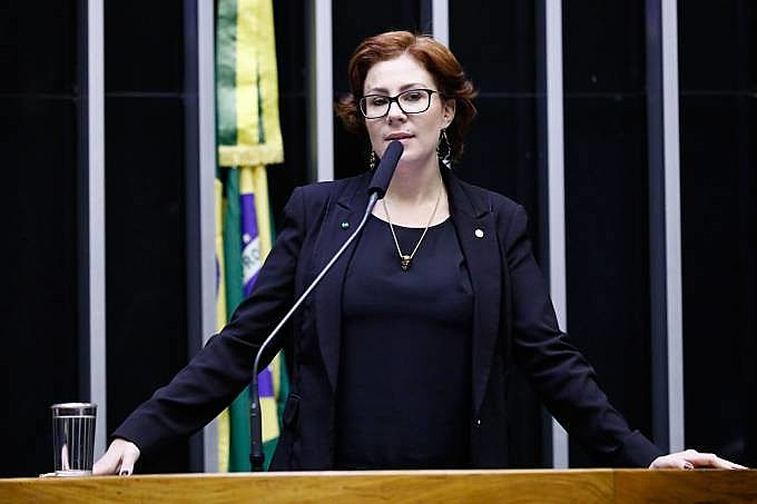 Deputada federal de primeiro mandato, Carla Zambelli (PSL-SP) integra clã fiel a Bolsonaro