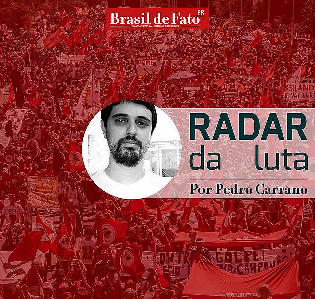 Entre 9 e 10 de maio, em Curitiba, movimentos sociais no Paraná realizam uma Jornada de Lutas pela Democracia