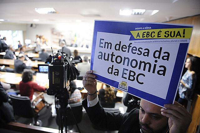 Trabalhadores da EBC lutam para garantir independência orçamentária e autonomia frente aos governos