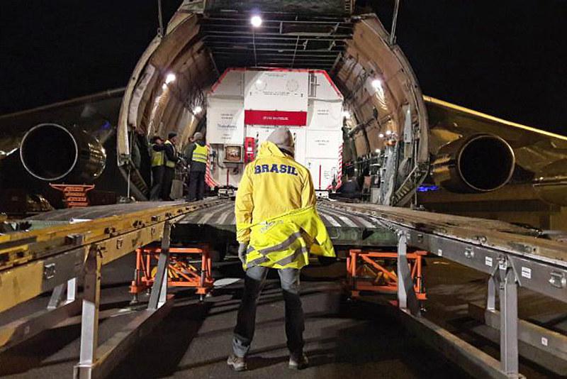 Satélite Geoestacionário embarca para Guiana Francesa