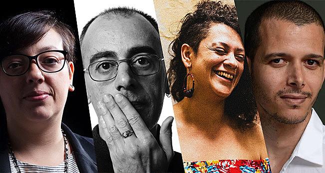 Natalia Borges Polesso, Caio Fernando Abreu, Bárbara Esmênia e Abdellah Taia