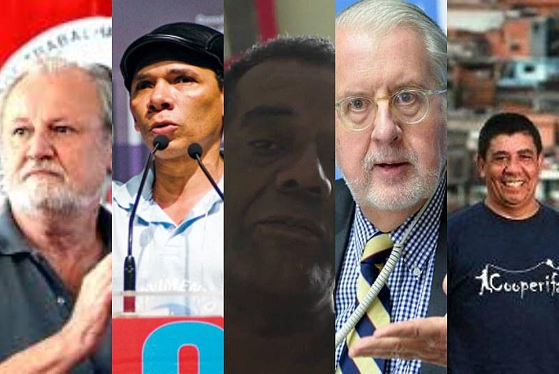 João Pedro Stédile, Anderson Lopes, Benedito Barbosa, Paulo Sérgio Pinheiro e Sérgio Vaz foram alguns dos homenageados