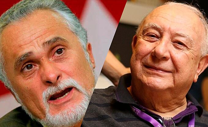 o ex-deputado federal José Genoino, 72, e o ator e dramaturgo Sérgio Mamberti, 79