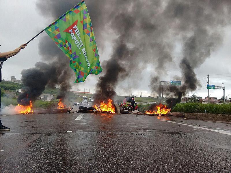 Carretera Transamazônica (BR-230) fue cortada en Paraíba