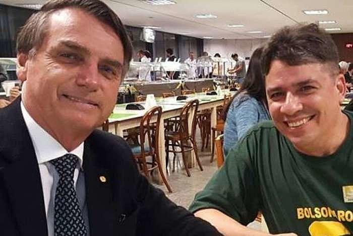 Nagem e Bolsonaro são amigos há mais de 30 anos.