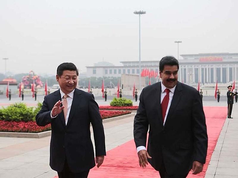 Líder chinês se reuniu com presidente venezuelano, em Beijing