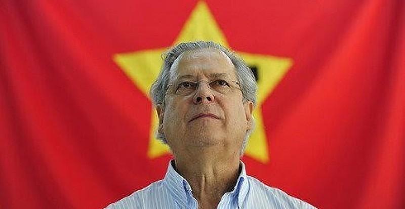 Dirceu participa de encontro do PT em porto Alegre em 2013
