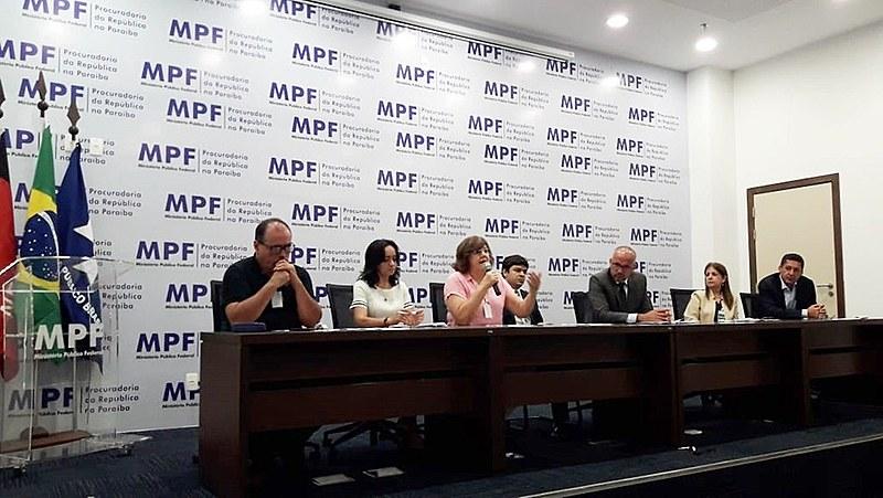 Entrega de recomendações de instituições paraibanas