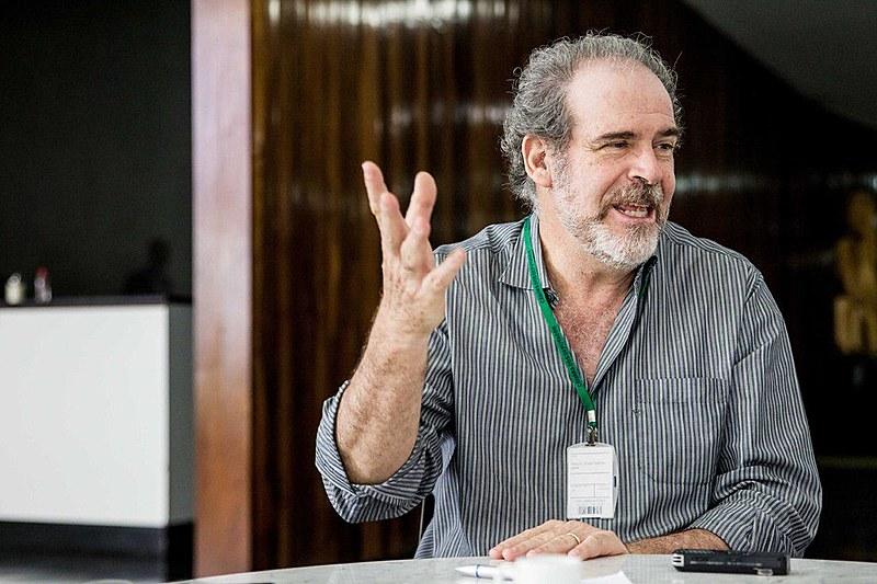Consultor legislativo Paulo César Lima concedeu entrevista ao Brasil de Fato nesta quinta-feira (20), na Câmara Federal