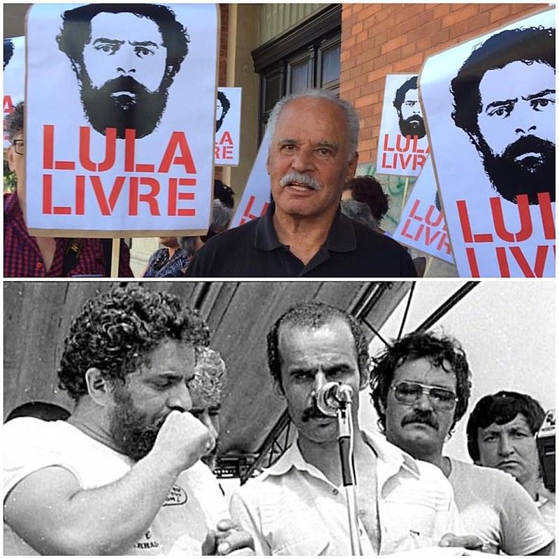 Lula e Djalma ficaram presos por um mês na sede do DOPS
