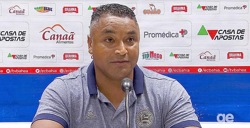 Roger Machado, treinador do Bahia, criticou mito da democracia racial em sua entrevista