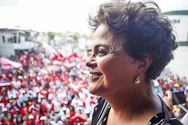 La ex presidenta participó en la caravana de Lula que recorre el Nordeste de Brasil hasta el 5 de septiembre