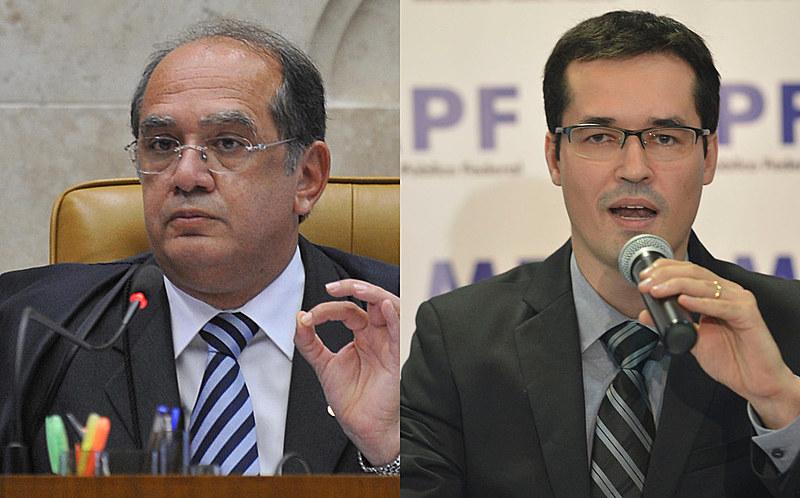"""Em conversas divulgadas, Dallagnol chama Mendes de """"brocha institucional"""""""