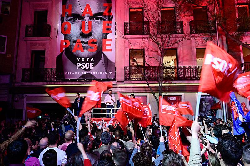O Partido Socialista Operário Espanhol (PSOE), do atual primeiro-ministro, Pedro Sánchez, venceu as eleições para o Parlamento