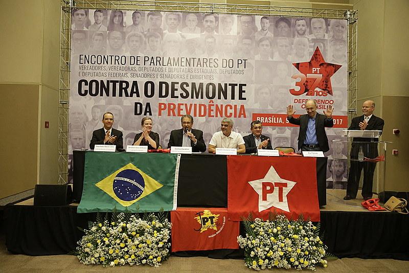 Em encontro realizado em Brasília, líderes do PT destacaram importância de corpo a corpo com Câmaras de Vereadores