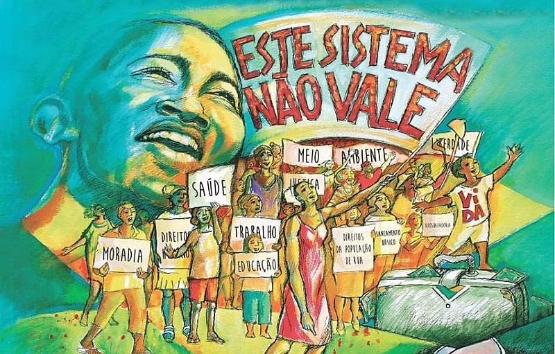 Em Curitiba, o Grito dos Excluídosserá a partir das14h na comunidade Dona Cida, na VilaCorbélia–nobairro CIC.