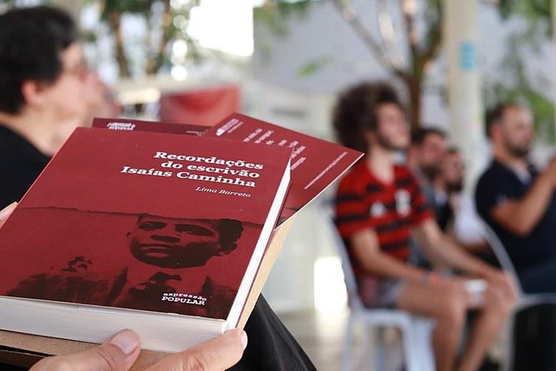Edição de relançamento do romance de Lima Barreto