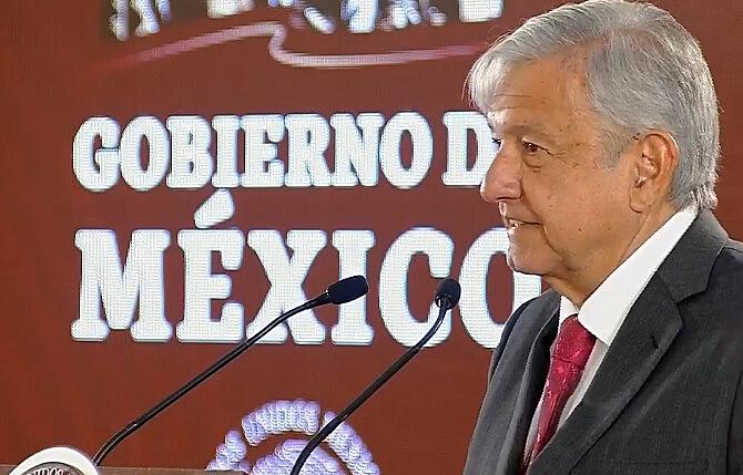 O governo do presidente Andrés Manuel López Obrador se coloca como fiador do diálogo
