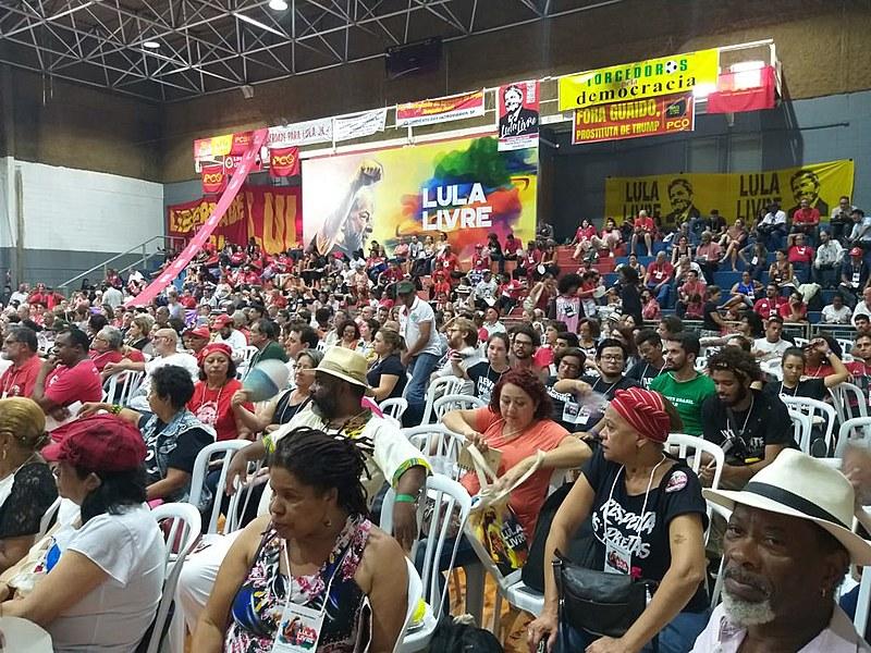 Participaram do encontro em São Paulo (16), 1300 pessoas, de pelo menos vinte estados do país