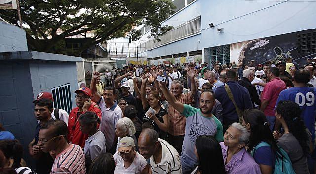 Foram instalados mais de 14 mil centros de votação em toda a Venezuela