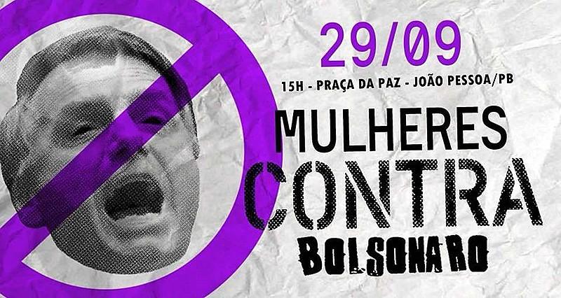 """Em todo o Brasil, milhões de mulheres organizam atos contra o fascismo, o racismo e ódio instalado pelo discurso do """"Coiso"""""""