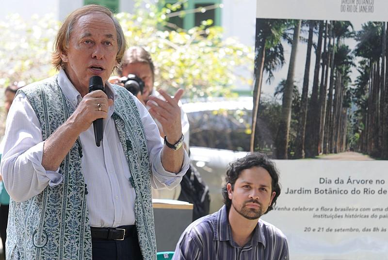 O ex-ministro Carlos Minc: Governo não tem nenhum compromisso com a questão ambiental