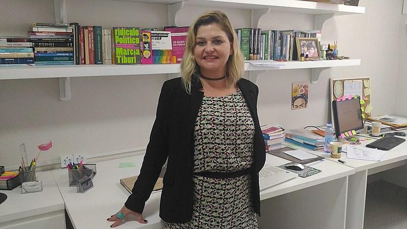 Além de liderar projeto, Júlia Melim é presidente da Comissão da Diversidade Sexual e Gênero da subseção da OAB em Joinville