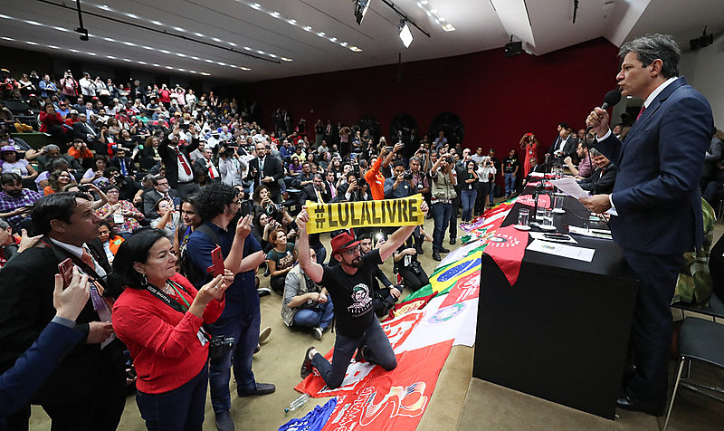 Mais de 300 lideranças estiveram em Brasília nesta quarta-feira (4) para inaugurar a frente unitária