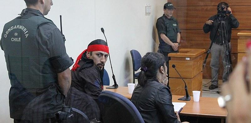 Nascido na Argentina, Jones Huala foi extraditado ao Chile em setembro passado para ser julgado por sua suposta participação em um incêndio