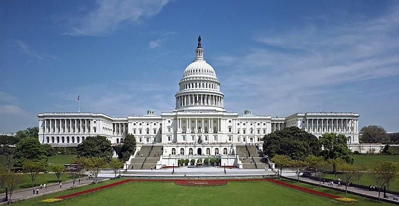 Capitólio, em Washington, é o centro legislativo do governo dos Estados Unidos