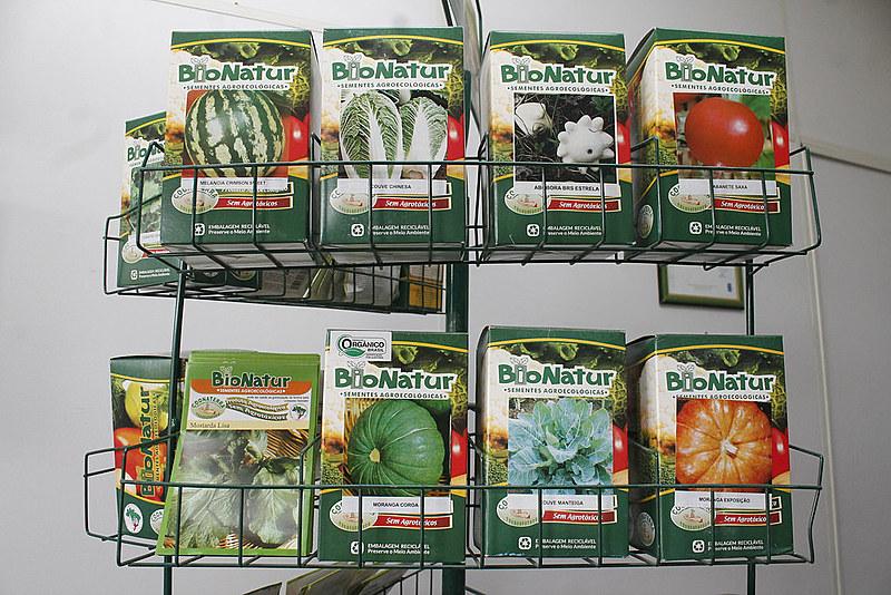 A experiência com a produção de alimentos não modificados geneticamente e sem veneno começou em 1997, em Candiota (RS)