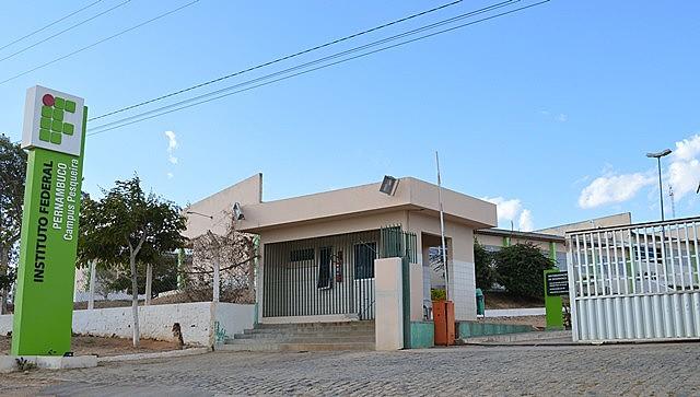 Campus do IFPE no município de Pesqueira (PE)