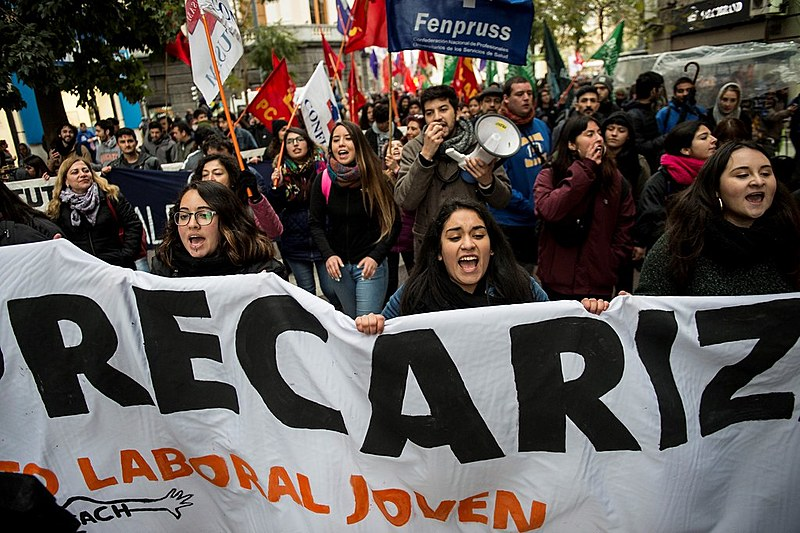 Protestos estudantis têm ocorrido ano após ano no Chile contra o modelo privado de educação