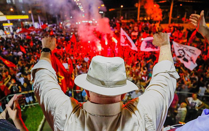 Ex-presidente Lula segue preso em Curitiba desde o dia 7 de abril