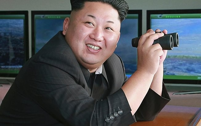 Tensões cresceram depois que a Coreia do Norte realizou vários lançamentos de mísseis em 2017